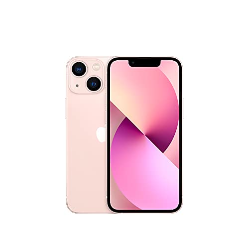 Apple iPhone 13 Mini (256GB, Pink) [Locked] + Carrier Subscription