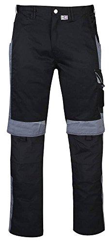 PKA BESTWORK New Arbeitshose schwarz, Arbeitsbundhose schwarz, Schwarze Arbeitshose, Gr. 54