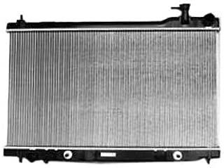 TYC 2588 Infiniti G35 1-Row Plastic Aluminum Replacement Radiator