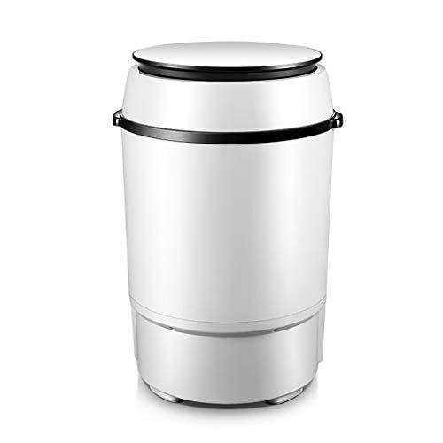 YXWxyj Lavatrici Portatili Mini Lavatrice Piccola Lavatrice Portatile Elettrodomestico Semi-Automatico Lavatrice Disidratazione, capacità di Lavaggio 5 kg, Potenza 260 W.