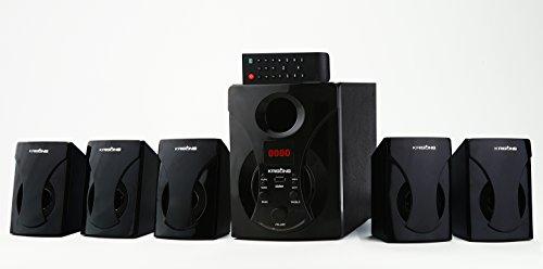 Krisons 5.1 Bluetooth Multimedia Speaker for TV/Laptop/Smartphones (Black)