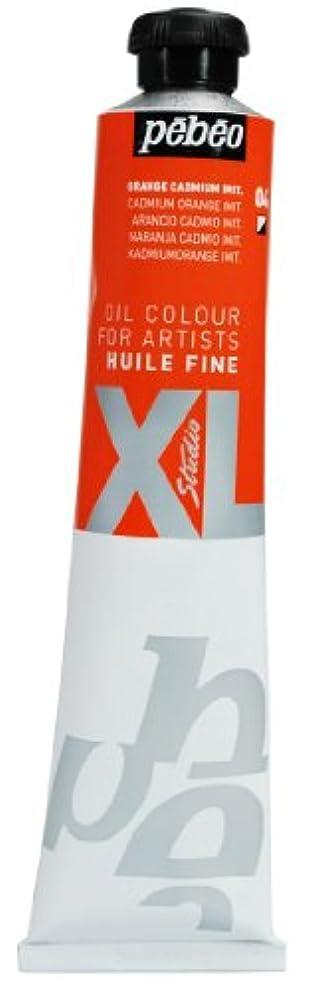 Pebeo Studio Xl Fine Oil 80-Milliliter, Cadmium Orange Hue