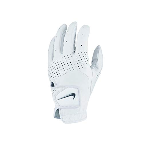 Nike Unisex– Erwachsene Tour Classic III REG LH GG Handschuhe, Pearl White/Pearl White/Black, L
