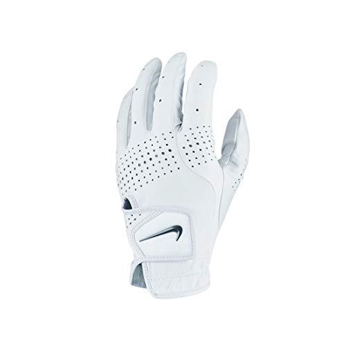 Nike Unisex– Erwachsene Tour Classic III REG LH GG Handschuhe, Pearl White/Pearl White/Black, XL