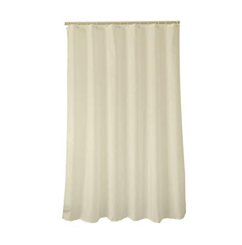 MaxAst Duschvorhang Anti Bakteriell Duschvorhang Einfacher Duschvorhang Polyester Beige Duschvorhang Badewanne 300x200 cm