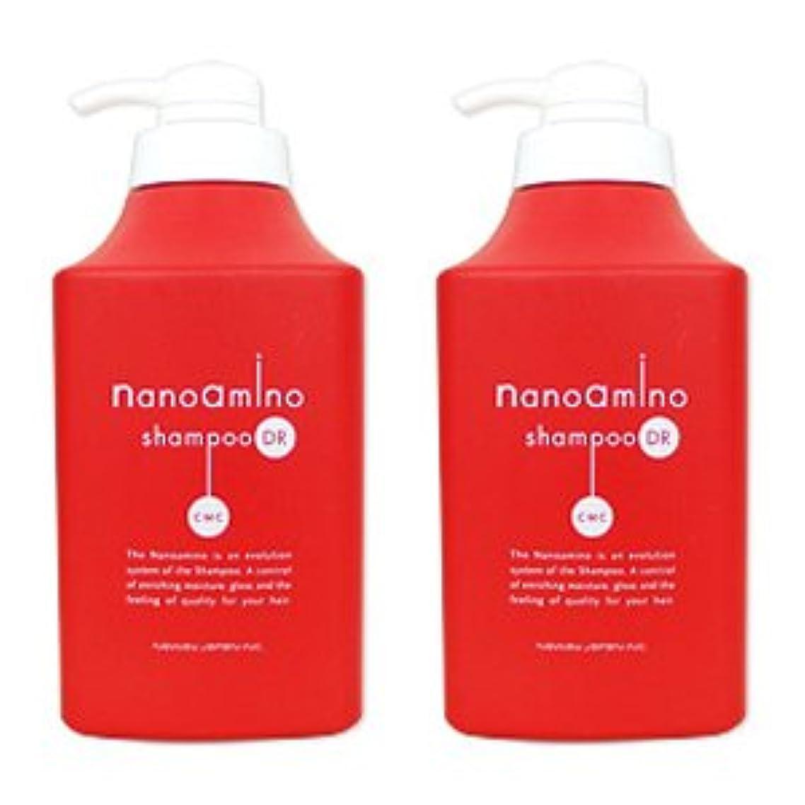 生態学年ブラシ【X2個セット】 ニューウェイジャパン ナノアミノ シャンプー DR 1000ml ポンプ付き容器入り