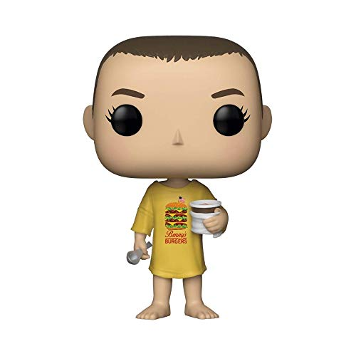 Funko- Pop Vinyl: Stranger Things: Eleven in Burger tee Vinilo, Multicolor, Estándar (35057)