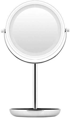 Kosmetikspiegel Haushaltsgegenstände Schminkspiegel, Smart Desktop LED Fill Licht kann Flipped HD Desktop-Kosmetikspiegel R09 Sein