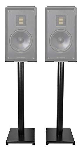 Review Of Pair Black 29 Steel Speaker Stands for Pair MartinLogan LX16 Bookshelf Speakers