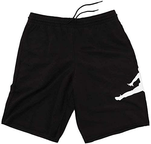 Nike Herren Shorts Jordan Jumpman Air Fleece, Black/White, S, AQ3115-010
