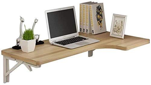 JIADUOBAO Mesa plegable mesita de noche para espacios pequeños montado en la pared de la hoja de la mesa de la computadora de escritorio de la cocina mesa de comedor de pared integrada