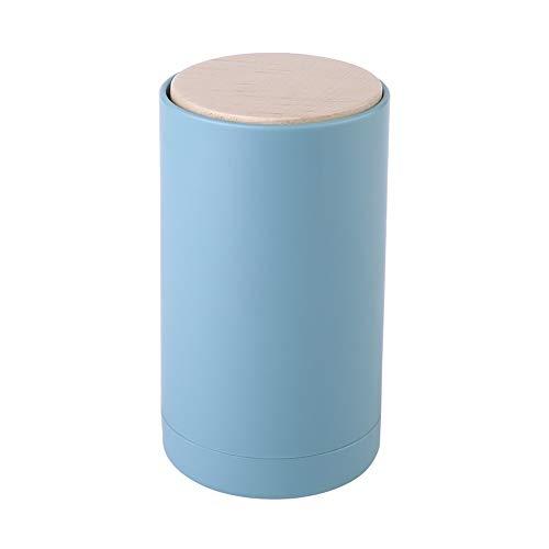 Pwofrg Tandenstoker Box Persoonlijkheid Creative Push Type automatische pop-up High-end Household Wattenstaafje Box Barrel High Value Beauty tandenstoker (Color : Blue)