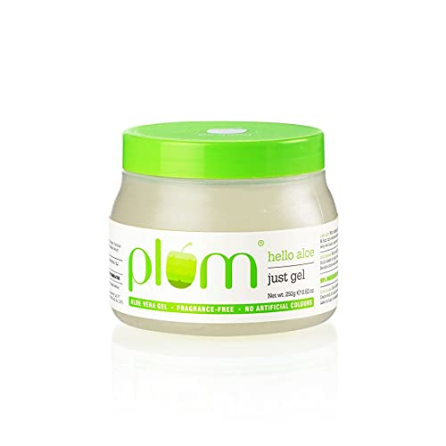 Neema Recommends : Plum Hello Aloe Just Gel For All Skin Hair Types Multipurpose Aloe Vera gel 100 Vegan 100 Fragrance Free gm