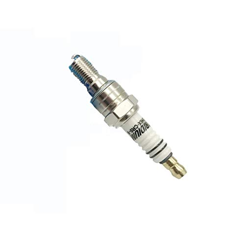 ADFIOSDO 1pc Iridium Spark Plug EHIX-CR9-9 / FIT for CR9EHIX-9 CR9EH-9 IUH27 U27FERZ-U9 XS4302 CR8EHIX-9 CR8EH-9 IUH24 CR9EHV-9 (Color : Metallic)
