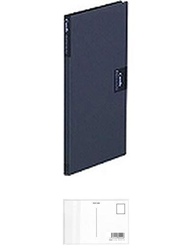 キングジム カードホルダー「カーズ」(溶着式) 41クロ + 画材屋ドットコム ポストカードA