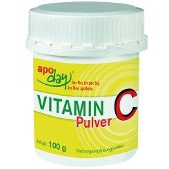 Vitamin C Pulver Spar-Set 3x100 g Dose. Zur Sicherung eines erhöhten Vitamin C-Bedarfs bei Stress, Leistungssport und für Raucher