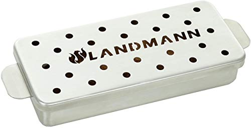 Landmann Raeucherbox Selection aus edelstahl