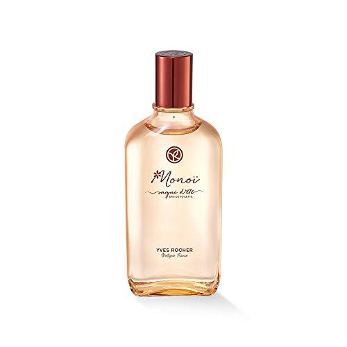 Yves Rocher Monoï Eau de Toilette – VAGUE D'ÉTÉ, Exotischer Sommer-Duft für Frauen, 1 x Zerstäuber 100 ml