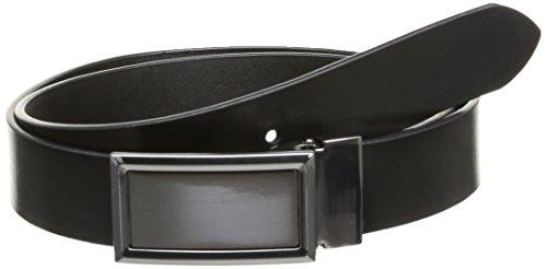 Celio - Ceinture - Uni - Homme - Noir - FR: 90 cm (Taille fabricant: T1)