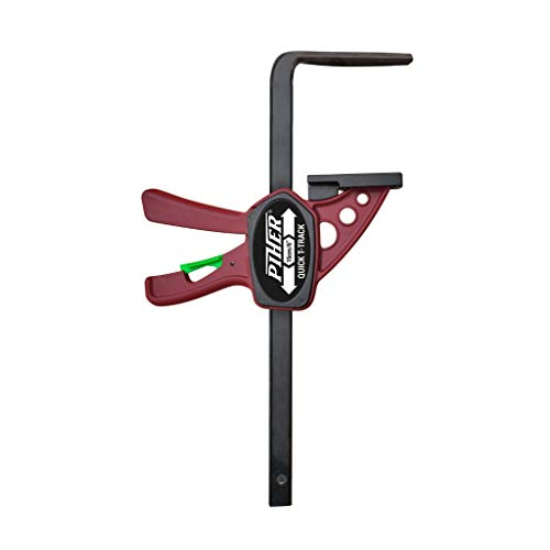 Piher MINI QUICK T-TRACK 15cm 52101 Schraubzwinge für Führungsschienen