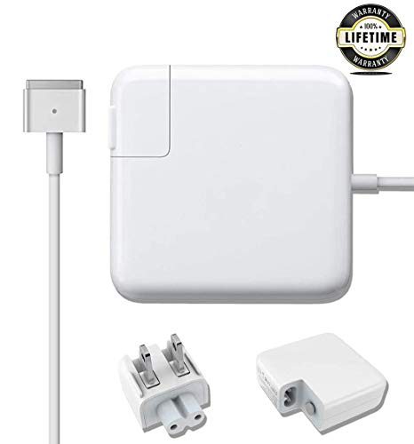 Mac Book Pro Charger, 85w Magsafe 2 Power Adapter Replacement for MacBook Pro 17/15/13 Inch (Made After Mid 2012)