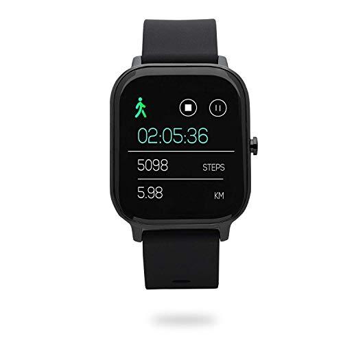 Nordväl SW101 Smartwatch Reloj inteligente (Negro)