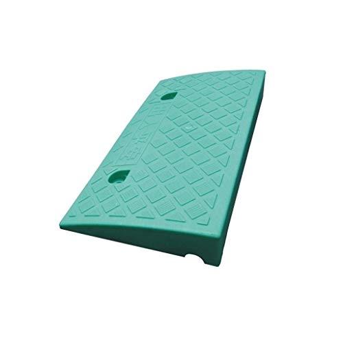 GPWDSN Auto Helling Pad, Outdoor Road Langs De Helling Stap Pad Plastic Fiets Skateboard Rolstoel Drempel Pad Kerb Ramps 7-13CM (Maat: 50 * 27 * 9CM)