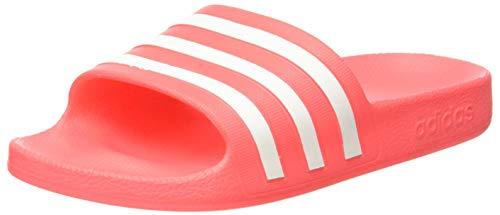 adidas Womens Aqua Adilette Gymnastics Shoe, Sigpnk Ftwwht Sigpnk,37 EU