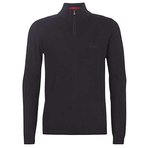 Guess MASSACHUSETS trui & gebreide jas Hommes Black Pullover