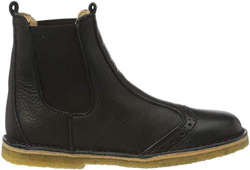 Bisgaard Unisex-Kinder Nori Chelsea Boots, Schwarz (Black 200), 25 EU