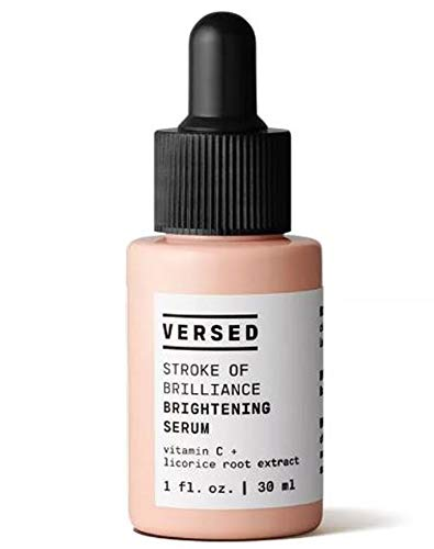 Versed Stroke of Brilliance Brightening Serum 1 Fl. Oz! Vitamin C Serum For Face! Anti-Aging Face Serum! Cruelty Free, Paraben Free and Vegan! Choose Your Facial Treatment! (Brightening Serum)