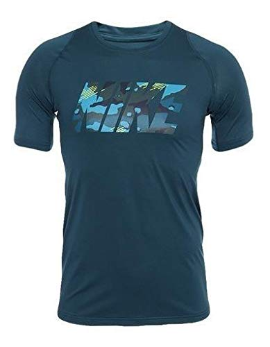 Nike M NP Top SS Fttd 2l CMO Tricot Homme, Ombre Nocturne (Nightshade), XL