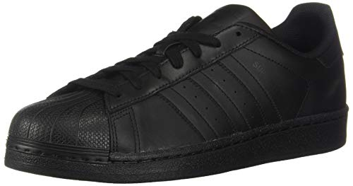 adidas Originals Men's Superstar  Black/Black/Black 10