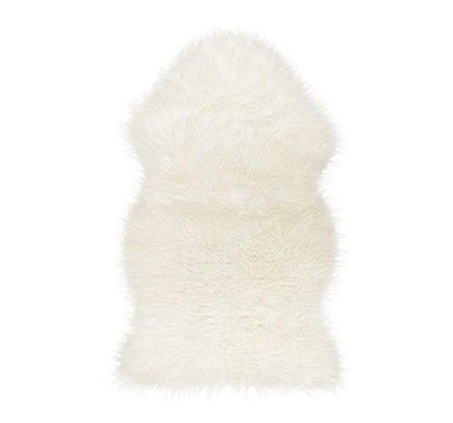 IKEA TEJN Lammfellimitat in weiß; (100x60cm)