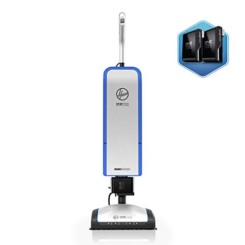 Hoover ONEPWR HEPA+ Cordless Upright Vacuum Cleaner, Bagged, Lightweight, BH55500PC, White