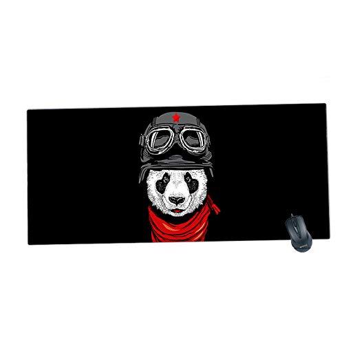 HonGHUAHUI nieuwe geblokkeerde rand bureaumat grote muismat voor toetsenbord mat 900x400x2MM A02