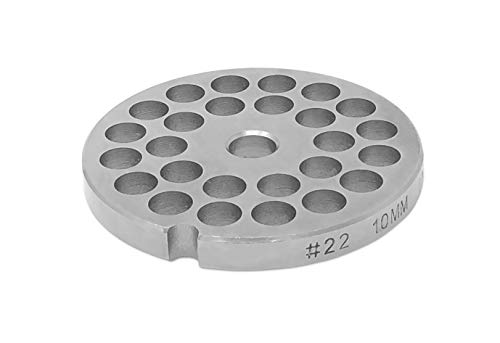 """#22 Stainless Steel Plate Disc Blade for Meat Grinder (3/8"""") -  Tesor"""