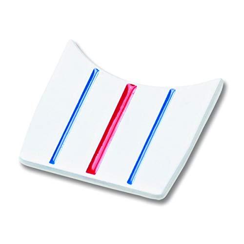 Callaway Men's Golf Triple Track 2er Pack Ball Marker, White/Blue/Red, Einheitsgröße