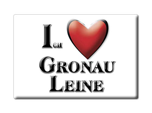 Enjoymagnets GRONAU Leine (NI) Souvenir Deutschland Niedersachsen Fridge Magnet KÜHLSCHRANK Magnet ICH Liebe I Love
