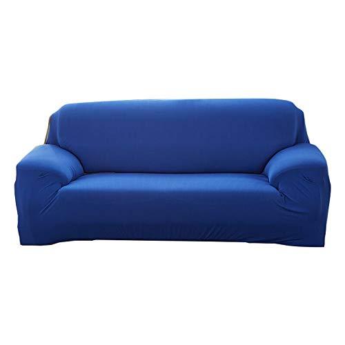 Fundas Lisas de patrón sólido Funda de sofá Fundas de sofá elásticas para Sala de Estar Funda de sofá Toalla de sofá Silla Funda de sofá A11 1 Plaza