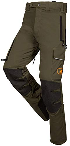 SIP Protection Progress Arborist Chainsaw Pants in Green (Large)