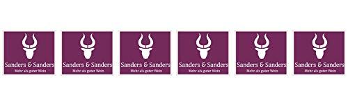 Sanders & Sanders Cuveé Wilsaner 2017 Trocken (6 x 0.75 l)