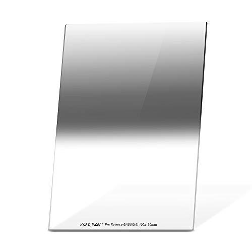 K&F Concept Verlaufsfilter GND8 Reverse 0,9 (3-Blenden) 100x150x2mm Rechteckfilter ND