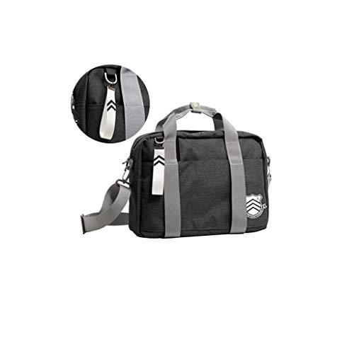 Senkey - Bolsa de pecho para hombre con interfaz de carga USB externa impermeable, Persona 5 P5 Estilo B, 35*14*26cm