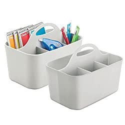 Best Classroom Caddies - mDesign Office Supplies Desk Organizer Tote