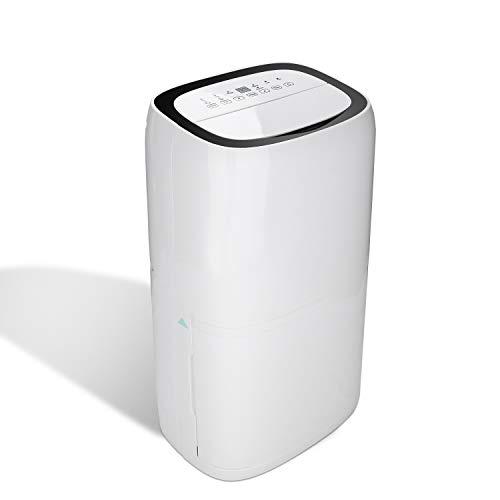 wolketon Luftentfeuchter bis zu 26L/Tag Raumentfeuchter Raumgröße bis zu 20~30 m² Timer Bautrockner Leiser Wäschetrocknung Entfeuchter Luftreiniger für Schlafzimmer