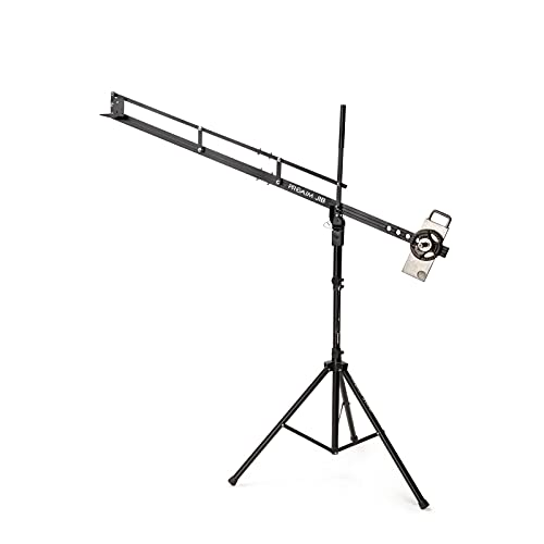 PROAIM 9ft Mini Camera Crane Portable Jib with Tripod Stand (P-9-TS) for DSLR Video Cameras up to 8kg/17.6lbs | Best Travel-Friendly Jib with Carrying Bag
