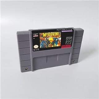 Game card Wolverine Adamantium Rage - Action Game Card US Version English Language Game Cartridge SNES , Game Cartridge 16 Bit SNES