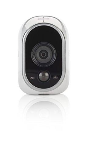 Arlo VMC3030-100EU Smart Home Zusatz-HD-Security-Kamera - kabellos, Indoor/Outdoor, Bewegungssensor, Nachtsicht - weiss