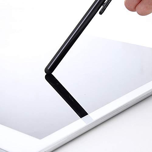 Lápiz capacitivo universal para pantalla táctil con 3 puntas de repuesto para tabletas, iPad, iPhone, Android IOS teléfonos móviles, Samsung, Kindle